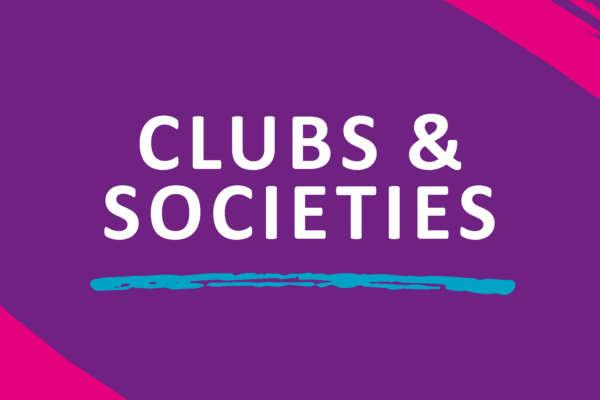 Clubs Societies header