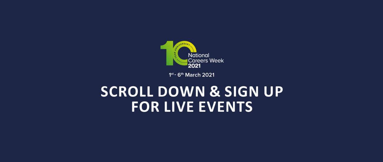 Careers Week Events Full Length Image