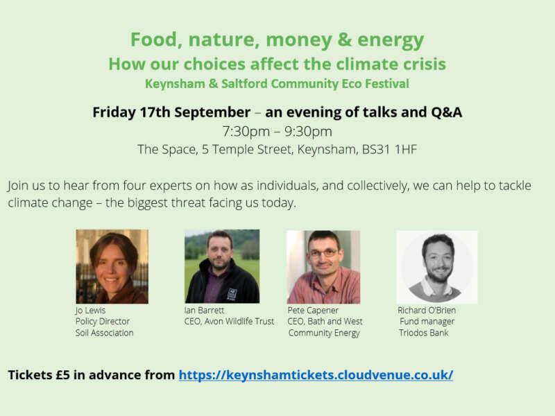 Friday Evening Talks keynsham