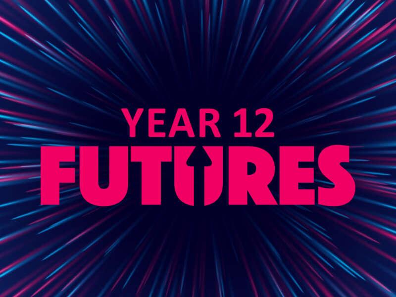 Futures event platform Year 12 header