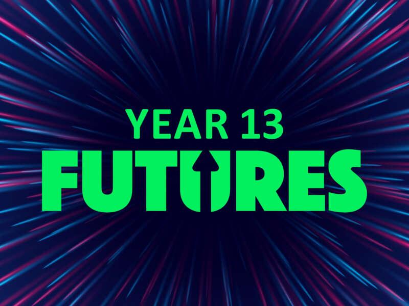 Futures event platform i Year 13 header