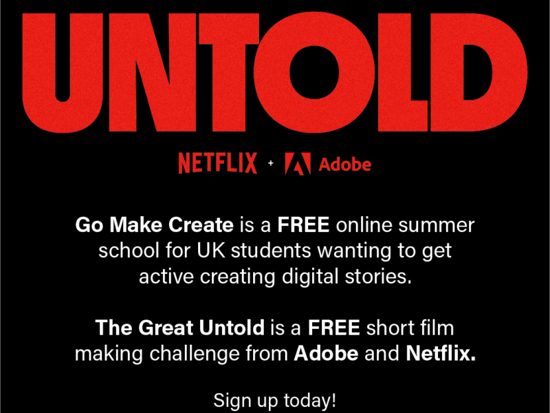 Go Make Create Flyer